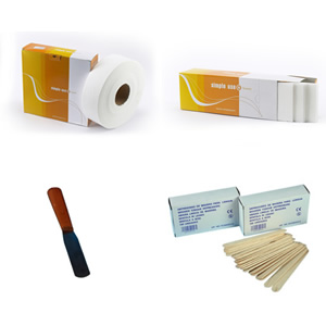 Disposable product for epilation